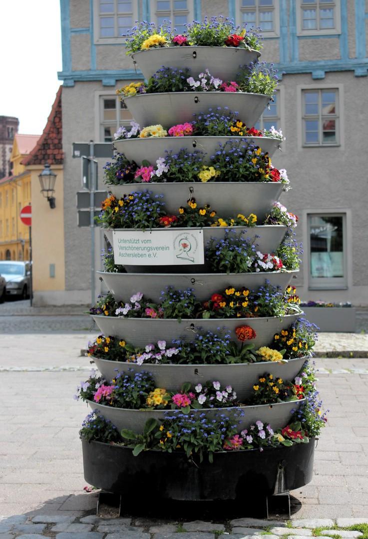 Eine Blume für die Stadt